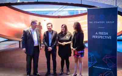 The Strategy Group team at the 'Fresh Perspective' event